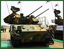 South Korea's arms procurement agency announced Friday, December 27, 2013, that it completed development of a multi- purpose air defense vehicle Bi-Ho with Shingung guided missiles based on indigenous technology. This self-propelled anti-aircraft defense system, Bi Ho provides final and close-in air defense against low altitude aircraft and helicopters.