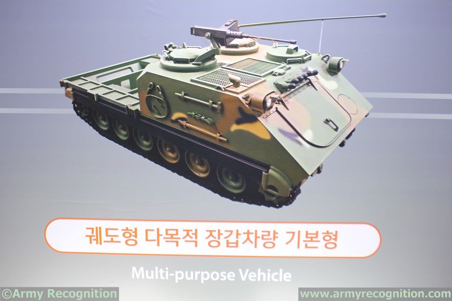 Hanwha K200A1 Multipurpose Vehicle ROK Army ADEX 2017 1