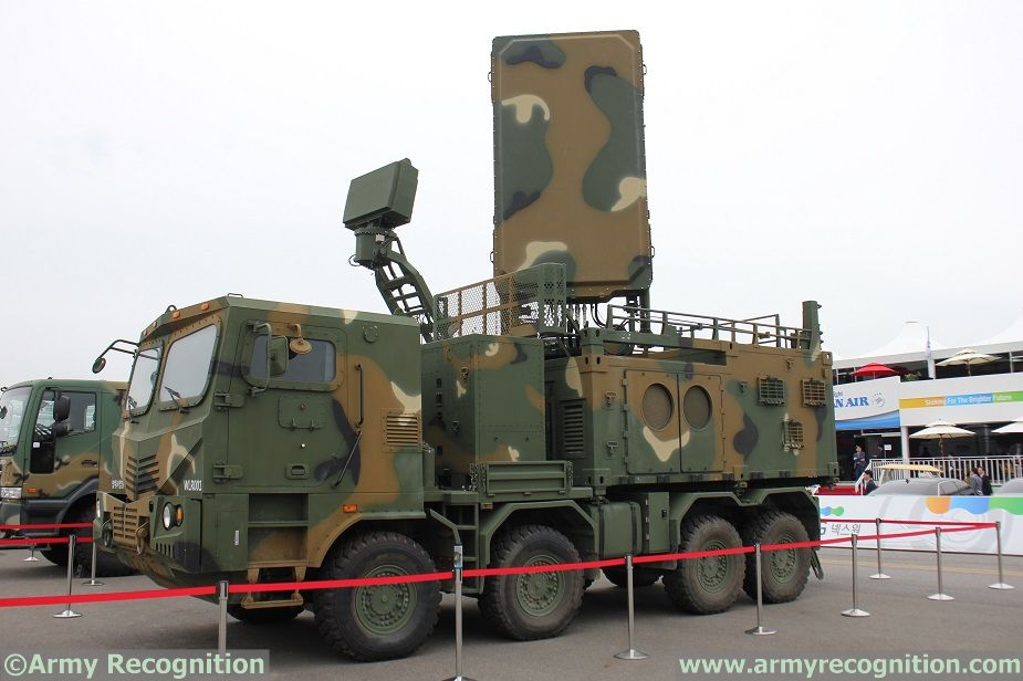 LIG Nex1 Weapon Locating Radar ADEX 2017 1