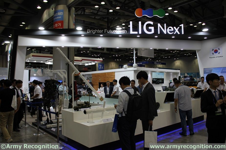 DX Korea 2018 LIG Nex1 introduces integrated solutions for the future battlefield
