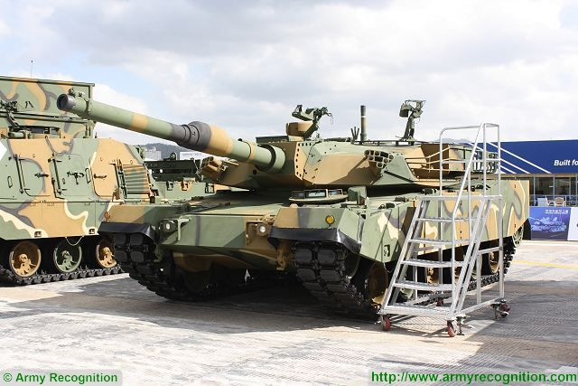 K1A1 main battle tank South Korea Korean army military equipment defense industry 640 001