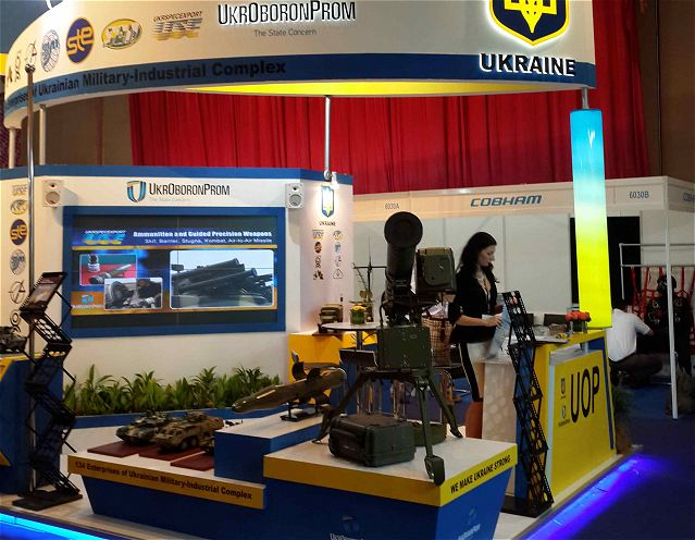 Ukroboronprom State Concern is participating in DSA 2014 International Defense Services Exhibition and Conference, which is held in Kuala Lumpur (Malaysia). Among the exhibition topics are following: up-to-date systems and technologies of defense industry for land, naval and aviation forces; satellite and space technologies and technologies to defense against terrorism.