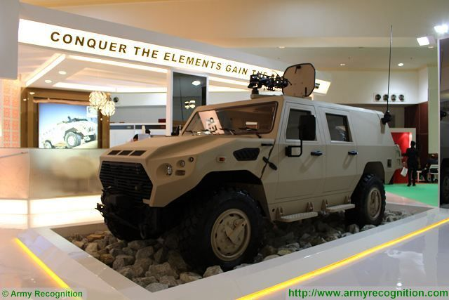 The UAE-based Company NIMR Automotive presents for the first time in the ASEAN (Association of Southeast Asian Nations) region its full range of Ajban class 4x4 multirole protected vehicle at DSA 2016, the Defence Services Asia exhibition in Kuala Lumpur, Malaysia.