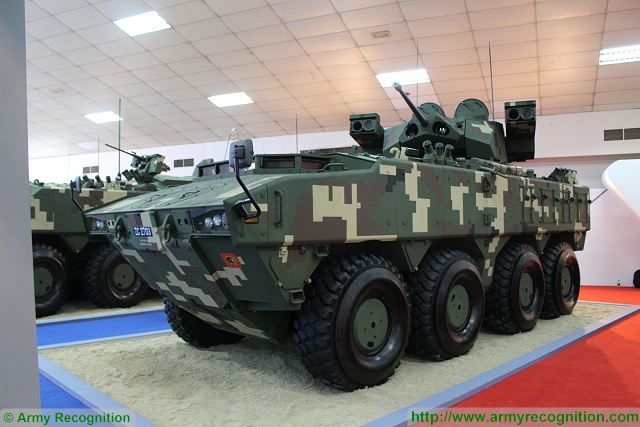 Deftech of Malaysia unveils new AV8 Gempita ATGW Anti-Tank Guided Weapon armored vehicle 640 001