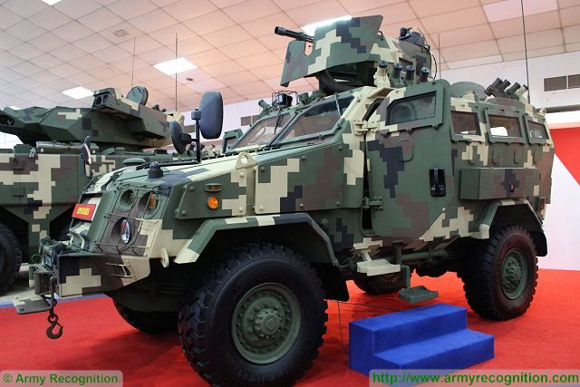 Deftech of Malaysia unveils new Lipanbara 4x4 HMAV High Mobility Armoured Vehicle at DSA 2016 640-001