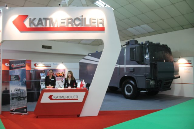 Katmerciler is presenting its defense industry vehicles at DSA 2016 640 001