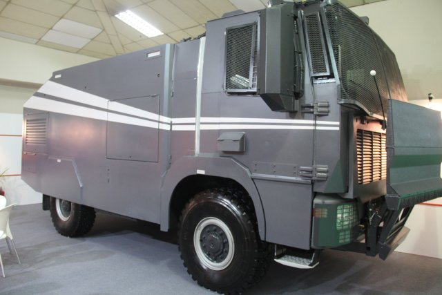 Katmerciler is presenting its defense industry vehicles at DSA 2016 640 002
