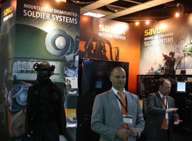 Savox showcasing its THOR Tactical Headgear for the first time in South East Asia 640 001