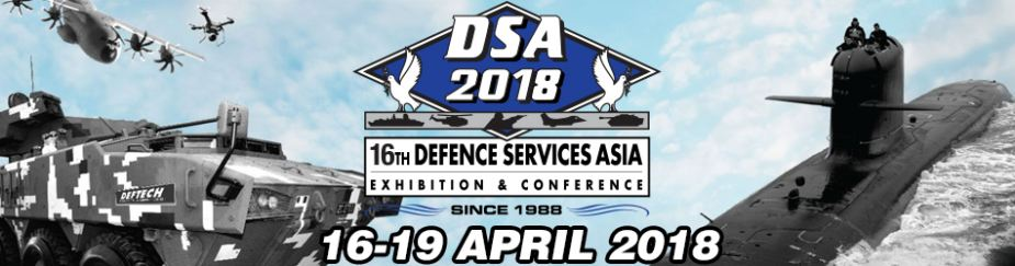 DSA 2018 defence services asia exhibition Kuala Lumpuir Malaysia banner 925 001
