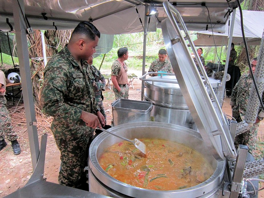 DSA 2018 SERT CR 300 Field Kitchen Qualified with Malaysian Army