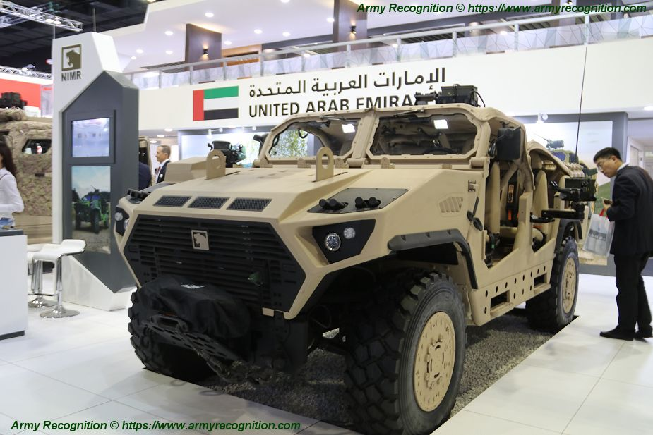 EDI NIMR Ajban LRSOV and Ajban 440A combat vehicles at DSA 2018 925 001