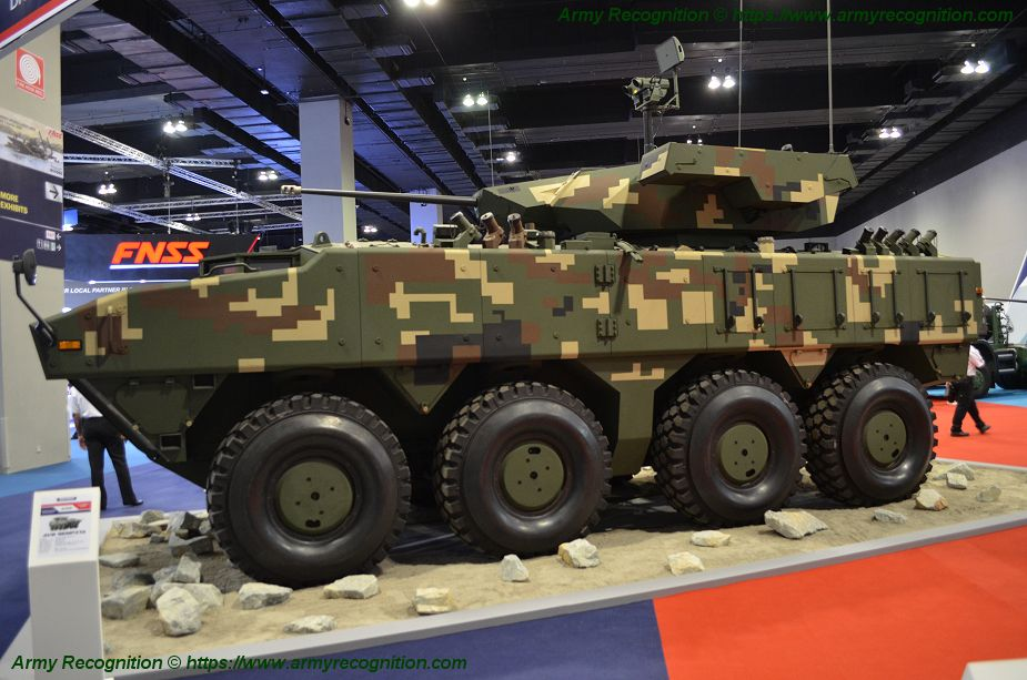 FNSS from Turkey continues to market its range of combat vehicles in Southeast Asia 925 002