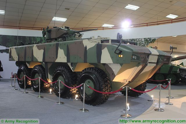 AV8 Gempita IFV-25 infantry fighting vehicle FNSS Sharpshooter 25mm cannon Malaysia Malaysian army 640 001
