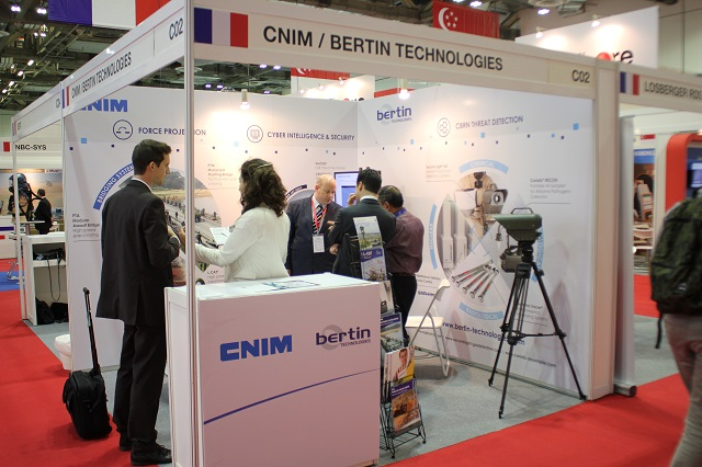 CNIM APHS 2015 Singapore security exhibition news