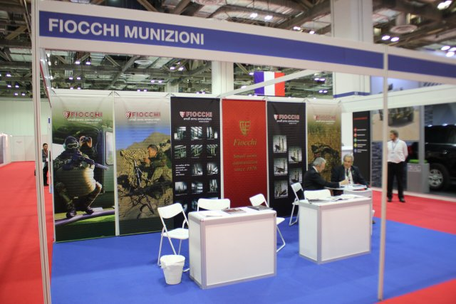 Italian company Fiocchi Munizioni presents new small arms ammunition at APHS 2015 640 001