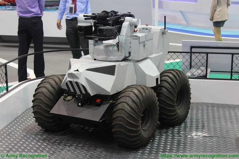 ST Kinetics unveils new weaponised Probot UGV Unmanned Ground Vehicle 925 001