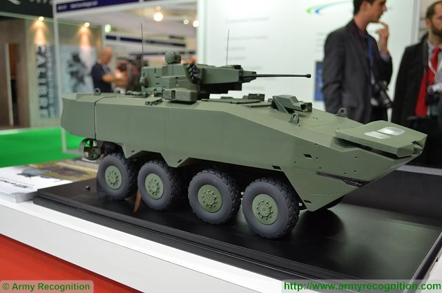 Terrex 2 8x8 armoured vehicle personnel carrier ST Kinetics Singapore defense industry 640 001