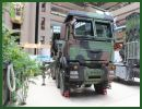 The Taiwanese army presents its new multi-caliber MLRS Multiple Launch Rocket System RT-2000 at TADTE 2013, the Taipei Aerospace and Defense Technology Exhibition in Taiwan. The rocket launcher system is mounted on a 8x8 MAN military truck.