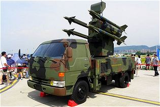 Antelope Tien Chien 1 TC-1 surface-to-air defense missile system technical data sheet specifications description information intelligence pictures photos images Taiwan Taiwanese army defensde industry military technology