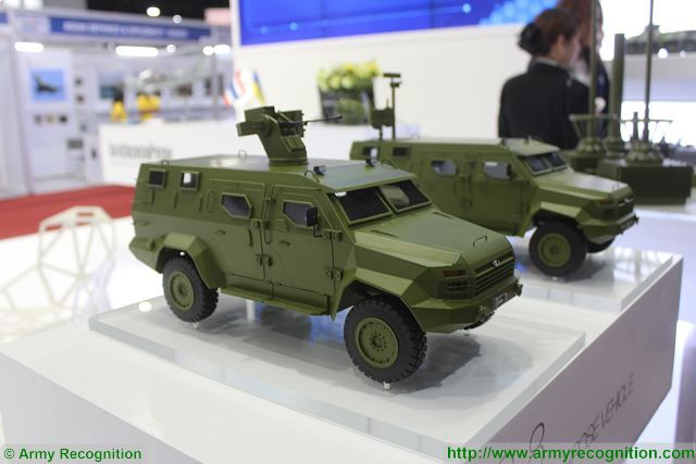 BAR-8 4x4 APC Ukroboronprom Defense and Security 2015 exhibition Thailand Bangkok 640 001
