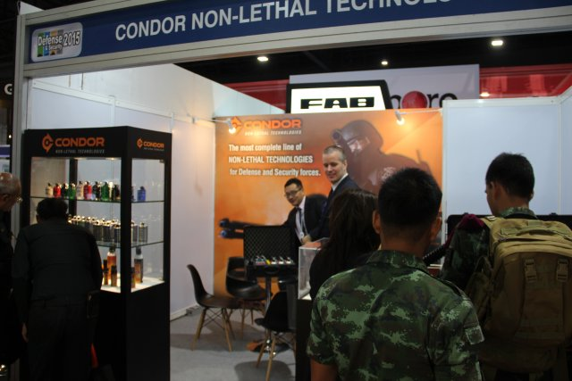 Brazilian company Condoris presenting its new electronic device generation SPARK 640 001