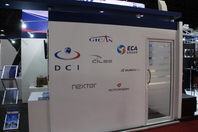 French company CILAS specialized in laser and optronics technologies is at Defense and Security 640 001