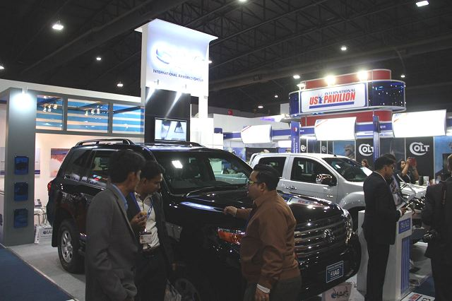 IAG armoured vehicles Defense and Security 2015 exhibition Thailand Bangkok 640 001