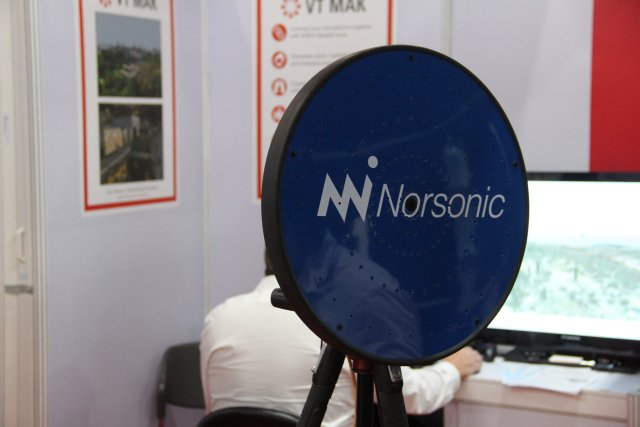Norsonic presents its compact and performing acoustic camera at Defense Security 2015 640 001