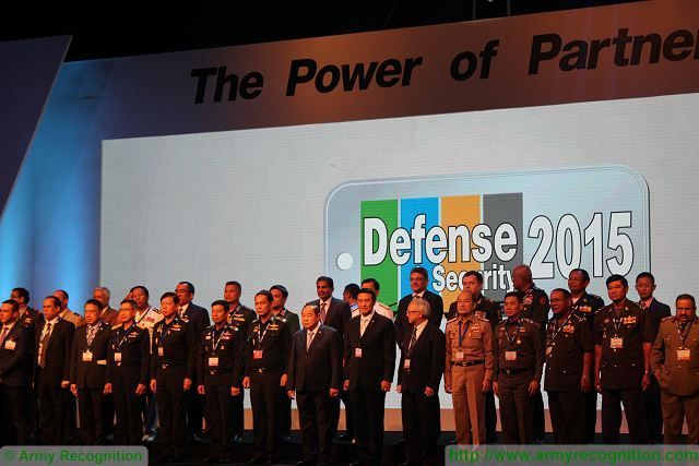 opening ceremony Defense and Security 2015 exhibition Thailand Bangkok 640 001