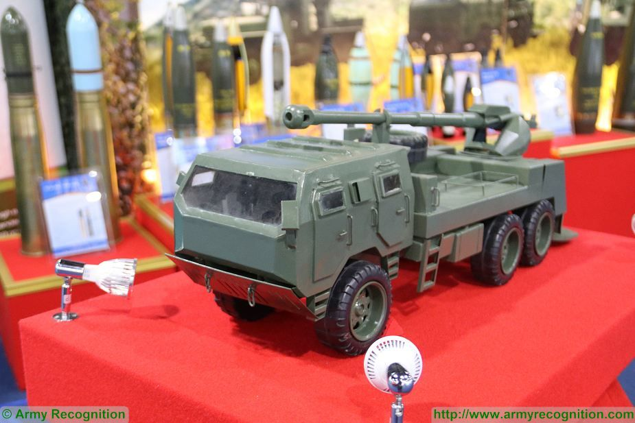New project of Thai army ATGM 155mm Autonomous Truck Mounted Gun Defense and Security Thailand 2017 Bangkok 925 001