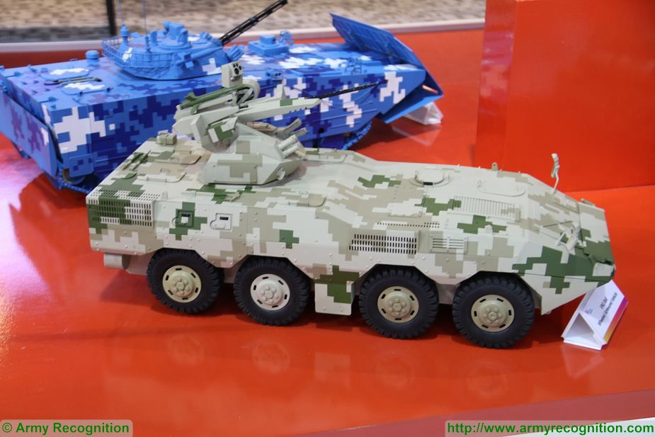 VN1 8x8 armoured Norinco China Defense and Security 2017 Exhibition Thailand Bangkok 925 001