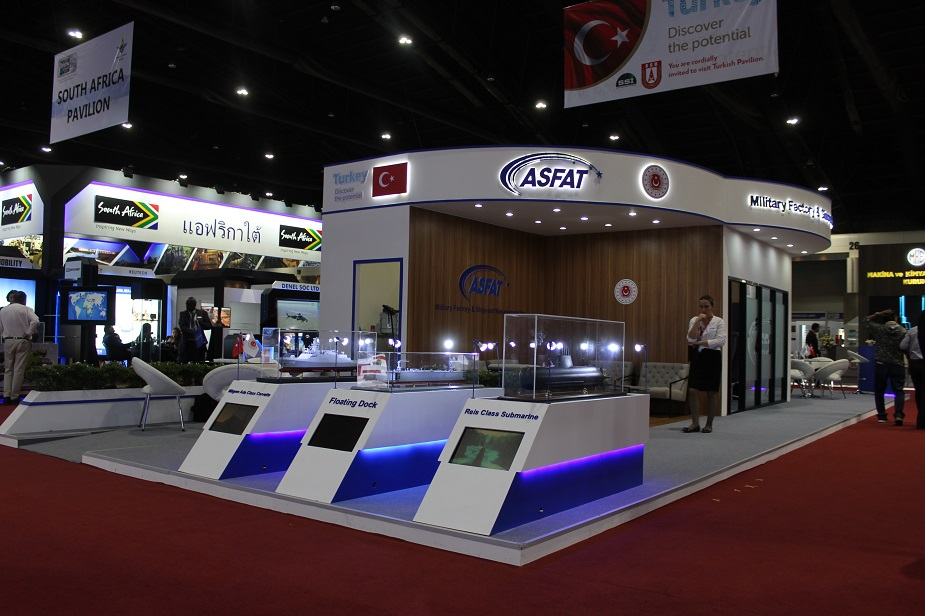 Defense Security Thailand 2019 ASFAT exhibits new its naval solutions