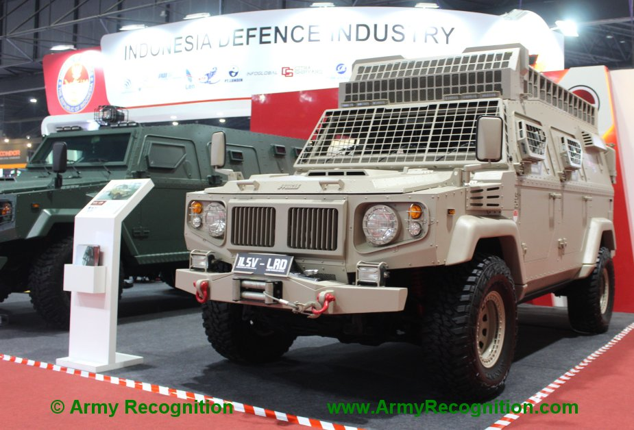 Defense Security Thailand 2019 J Forces showcases ISLV GAG and ISL LRD armored vehicles 2