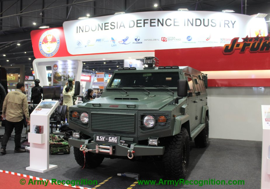 Defense Security Thailand 2019 J Forces showcases ISLV GAG and ISL LRD armored vehicles 3