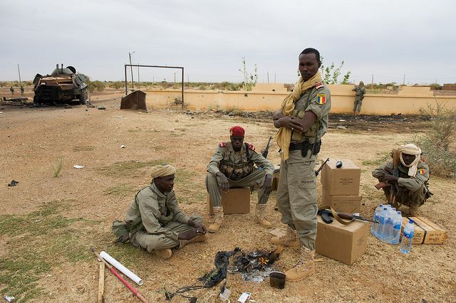 Malian and French soldiers have captured Timbuktu airport, Sunday, January 27, 2013, as they continue to retake territory from al-Qaeda-linked rebels in northern Mali. A Malian military source said the French and Malian troops had met no resistance up to the gates of Timbuktu and controlled the airport. Positions around the airport Gao were reinforced by an armored unit of the 21st RIMa and African soldiers from Niger and Chad