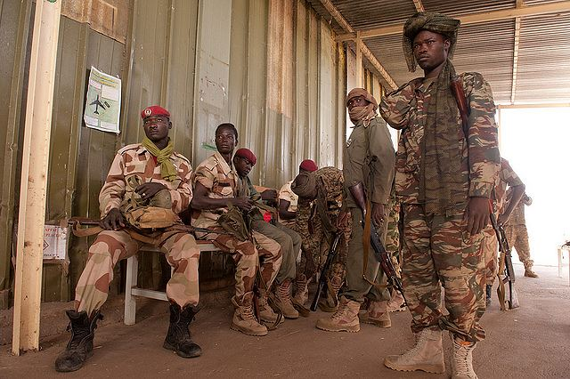 More than 2,000 Chadian soldiers have arrived in Niger, joining 500 soldiers from the country's army, to tackle the rebels by opening a second front against them.