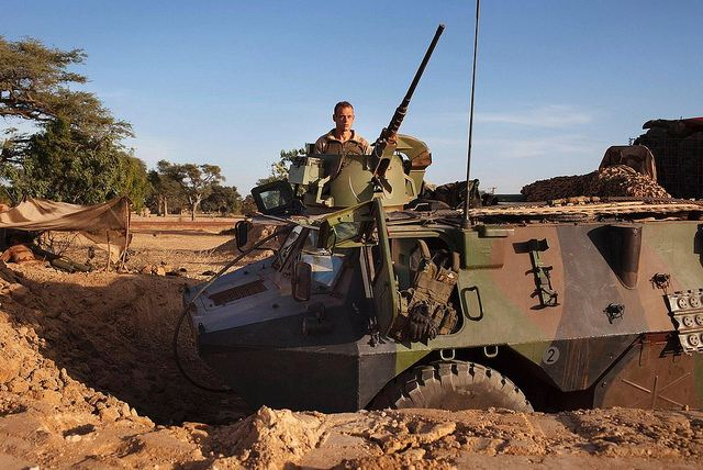 French air forces have carried out three attacks on rebel positions and French forces are advancing towards Mali's Islamist-held north after taking up positions in the towns of Niono and Sevare, a spokesman for the French military operation Serval said Sunday, January 20, 2013.