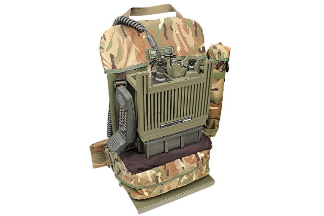 Barrett Communications PRC 2081 VHF Manpack package 640 001