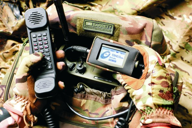 Barrett communications PRC 2090 Tactical HF radio system 640 001