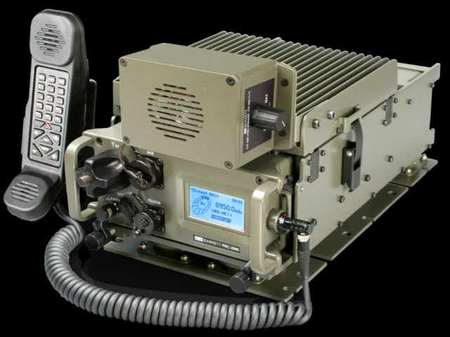Barrett communications PRC 2091 00 10 Tactical HF radio system 640 001