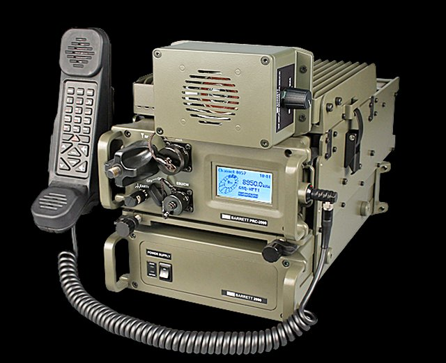 Barrett communications PRC 2092 00 10 Tactical HF radio system 640 001