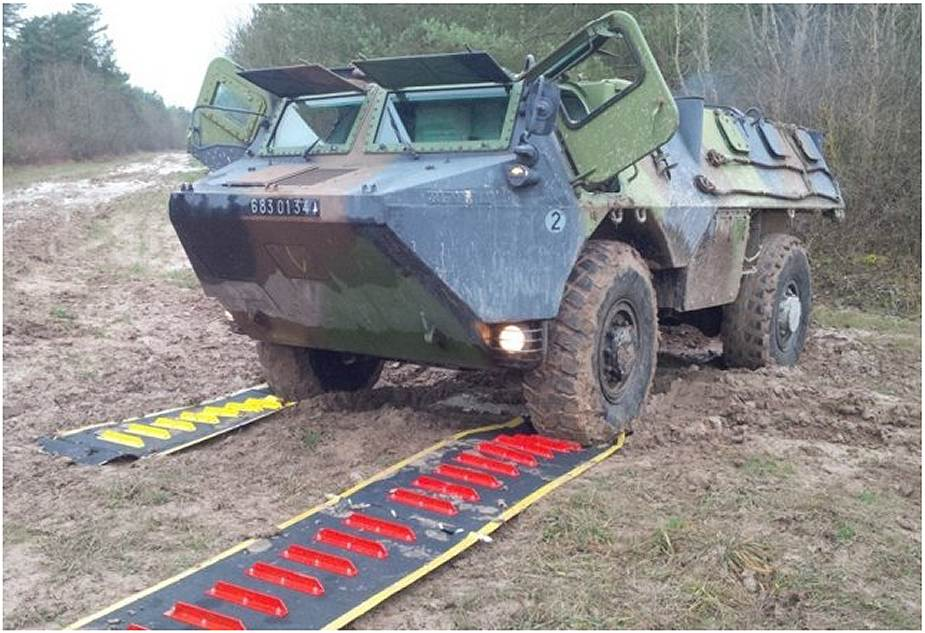 Mobile Vehicle Recovery Mats Musthane Mustmove defence military army 925 001