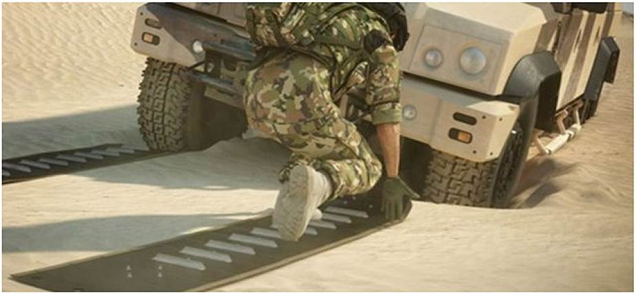 Mobile Vehicle Recovery Mats Musthane Mustmove defence military army 925 002
