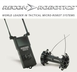 ReconRobotics micro robots recon throwbot surveillance scout swat tactical robots law enforcement American United States defence industry military army technology designer manufacturer developer