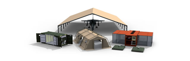 UTILIS Military Tent/Shelter, Field Camp, Field Hospital & Medical Post army
