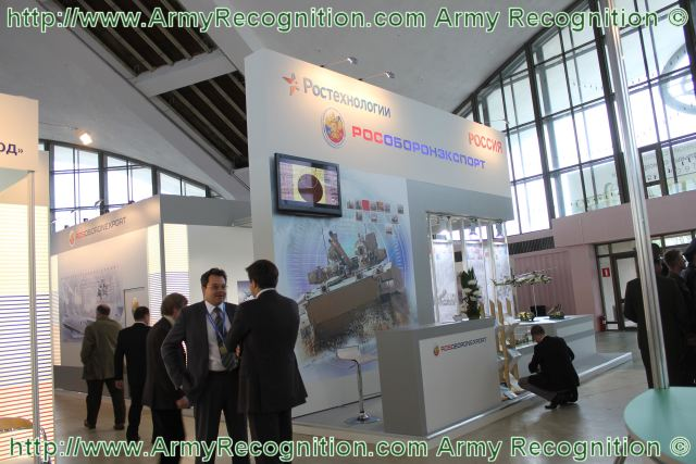 At MILEX 2011, Rosoboronexport exhibit in excess of 50 defence-related products for the Army, the Air Force, and the Air Defence Forces, as well as a wide range of special hardware in the form of models, posters, promotional materials, and multi-media presentations.