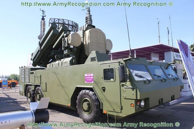 At MILEX 2011, the Belarus Defence Company Tetraedr its latest generation of mobile air defense missile base on the russian made air defense missile system SA-8 Gecko, the T38 STILET Short Range Air Defence System.
