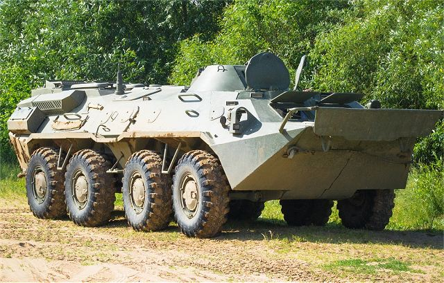 BTR-70MB1 8x8 APC armoured vehicle personnel carrier Belarus Belarusian army military equipment 640 001