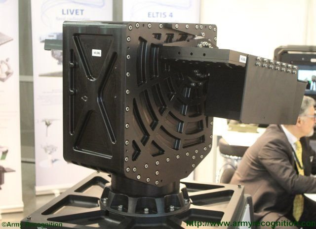 Elsel discloses new LIVET dual gun remote weapon station at IDET 2015 640 001