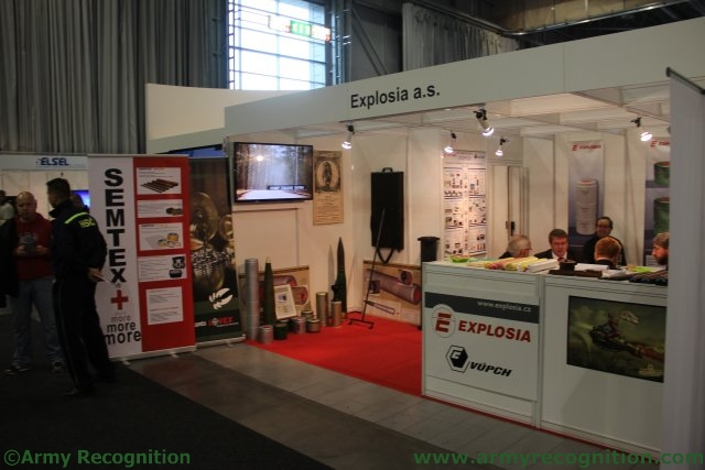 Explosia products for military needs presented at IDET 2015 exhibition 640 001
